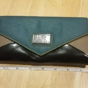 Kenneth Cole Reaction Tricolor Wallet/Clutch